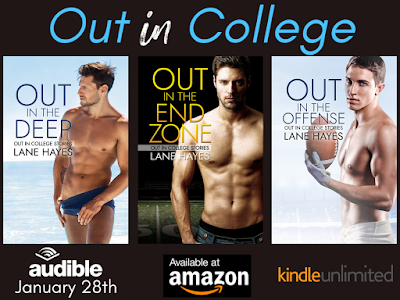 Out in the Offense: Out in College Book 3, Lane Hayes