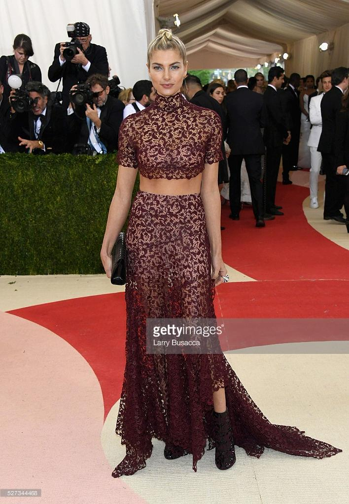 Jessica Hart at the Met Gala 2016