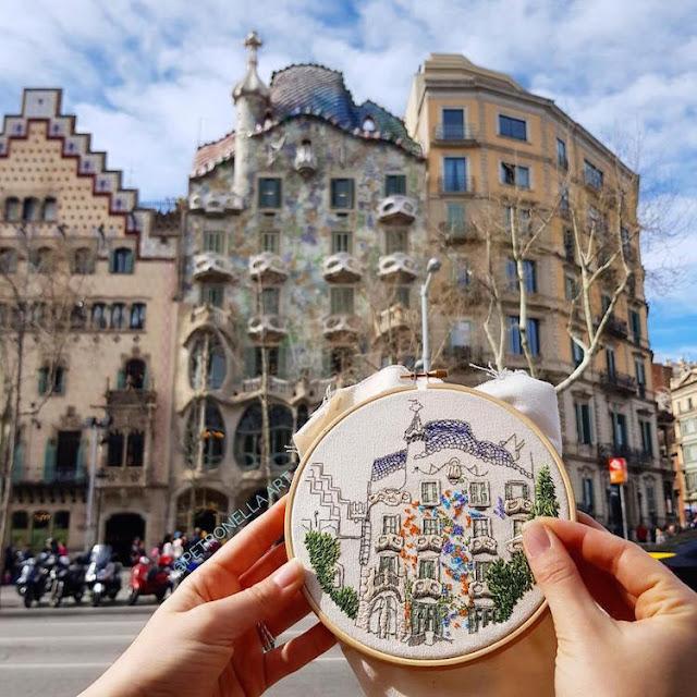 hafty z podróży