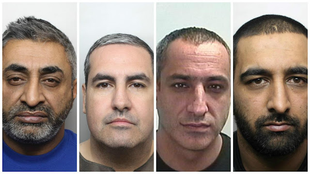 Drugs gangs jailed for almost 200 years