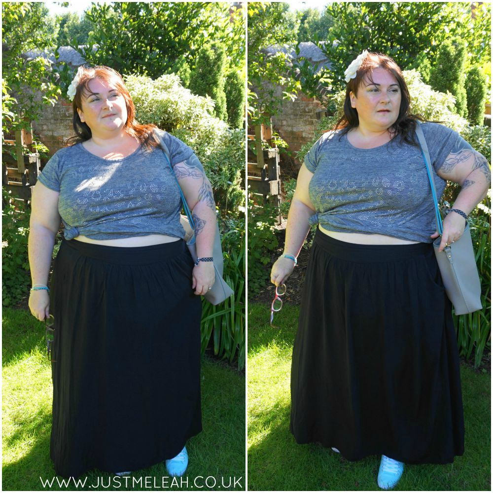 PLUS SIZE CROP TOP ALTERNATIVE CURVES