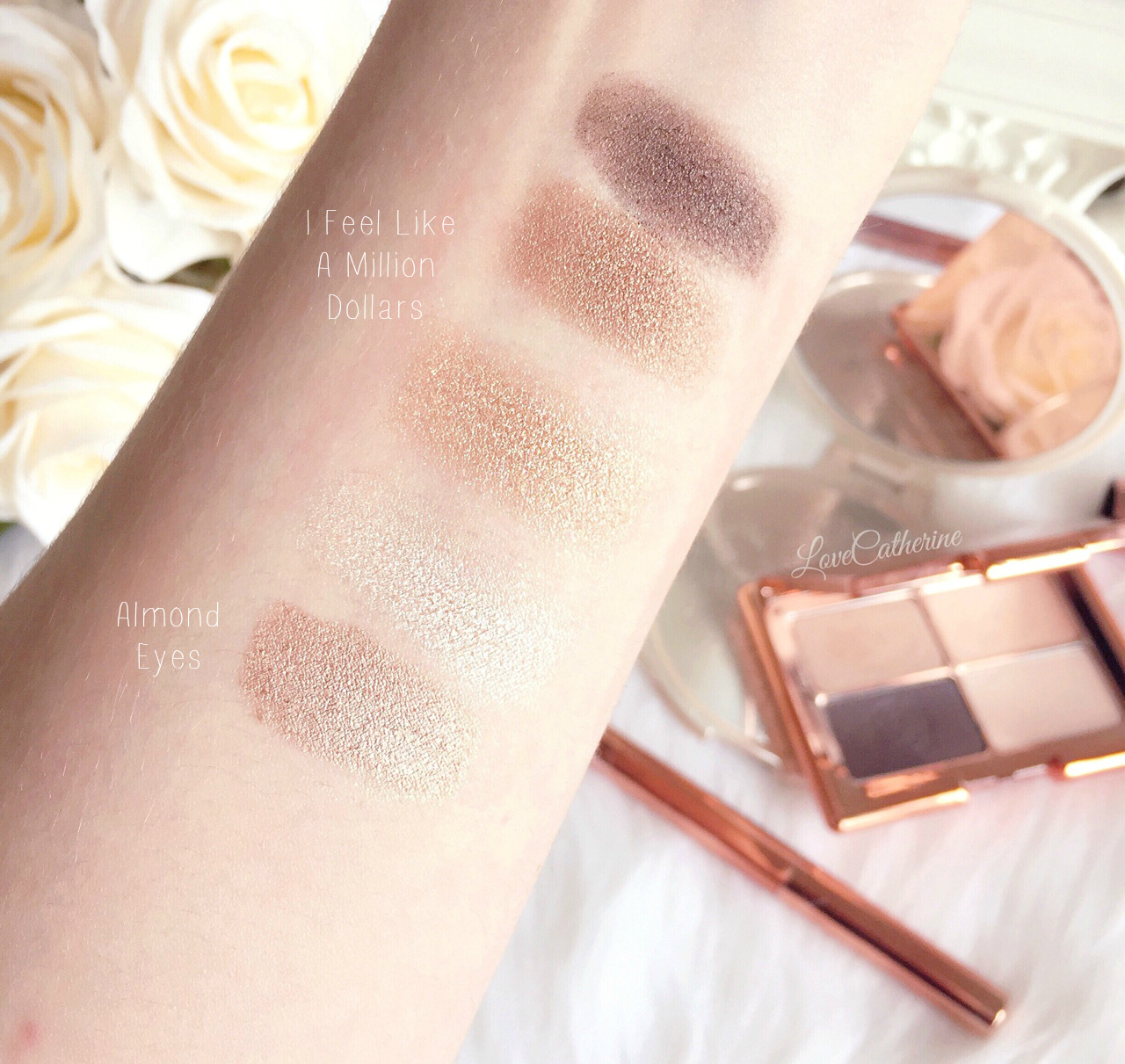 Rosie for Autograph | Swatches, I Feel Like A Million Dollars & Almond Eyes