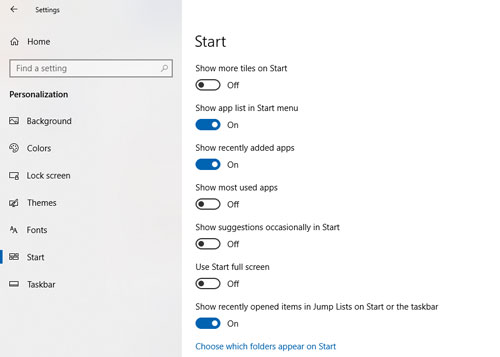 menonaktifkan junk apps windows 10