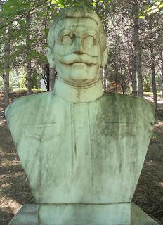 προτομή του Παύλου Μελά στο Μουσείο Μακεδονικού Αγώνα του Μπούρινου