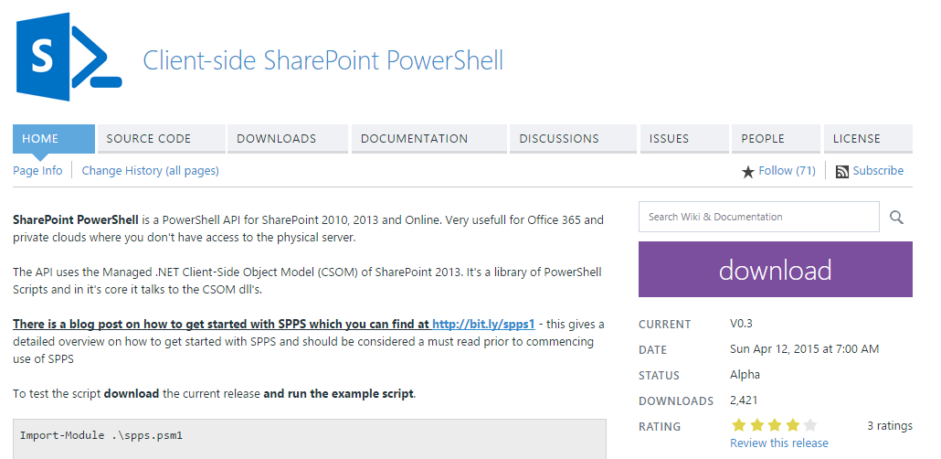 Malin De Silva: Client-side SharePoint PowerShell CSOM Read list