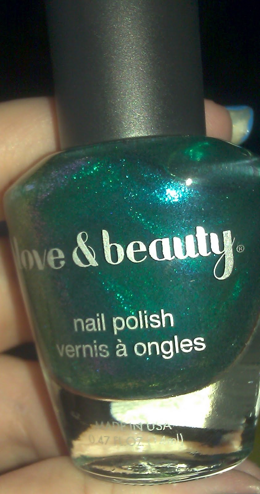 Forever 21 Nail Polish in Blue/Green….INCREDIBLE!