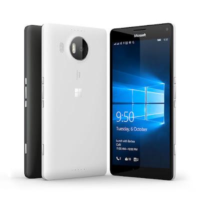 مواصفات وأحدث أسعار هاتف ميكروسوفت لوميا Microsoft Lumia 950 XL ببطاقتي SIM في مصر ودول الخليج