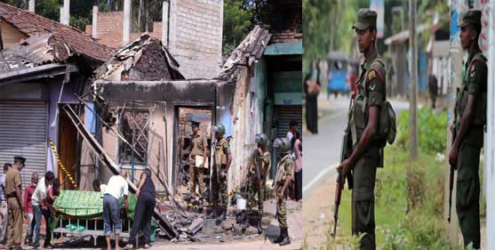 '10-day state of emergency in Sri Lanka Muslim-Buddhist