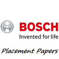 Robert Bosch Placement Papers 2016-2017