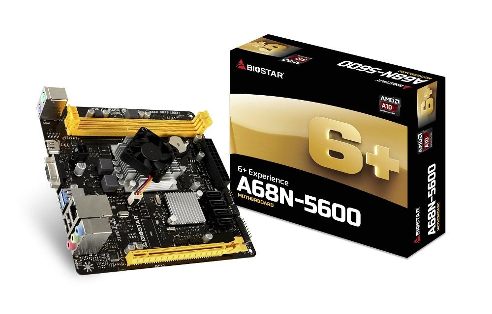 BIOSTAR A68N-5600 SoC Motherboard