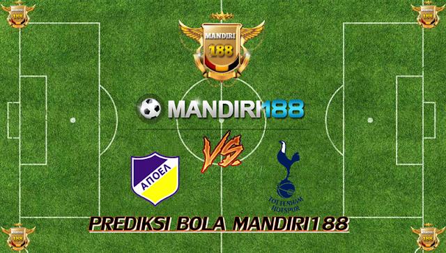 AGEN BOLA - Prediksi APOEL Nicosia vs Tottenham Hotspur 27 September 2017