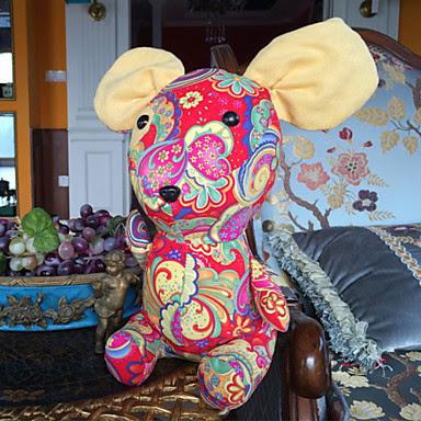 Ratón Peluche Multicolor