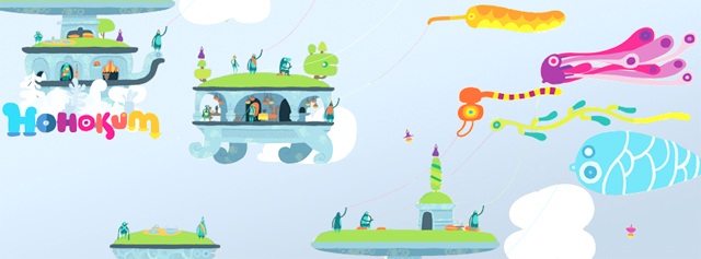 Stickers muraux Hohokum par Sony PlayStation