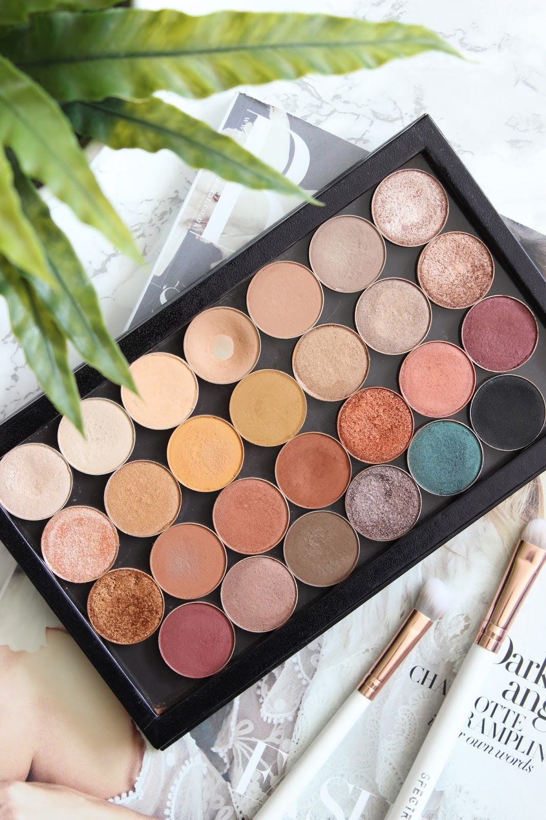 I Finally Finished My Makeup Geek Palette | Review & Swatches