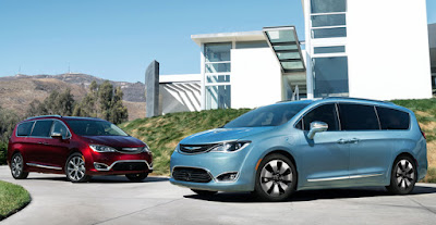 Chrysler Pacifica two variant Hd pictures