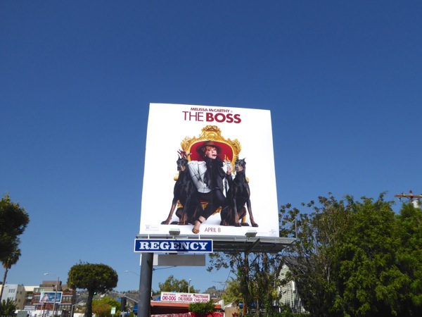 The Boss billboard