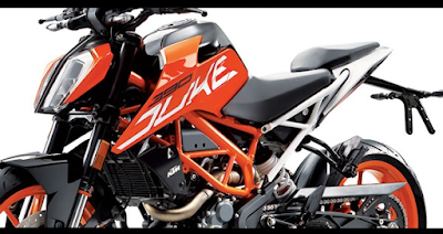 2017 KTM Duke 390 naked bike