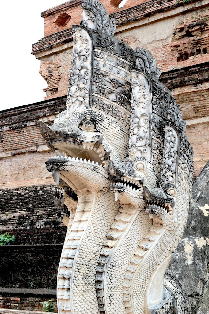 Wonderful Architecture Temple Old Town Travel Photography Chiang Mai Thailand