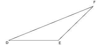 gambar segitiga tumpul