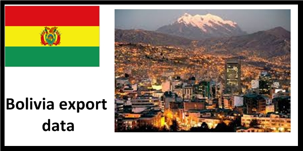 Bolivia imports data