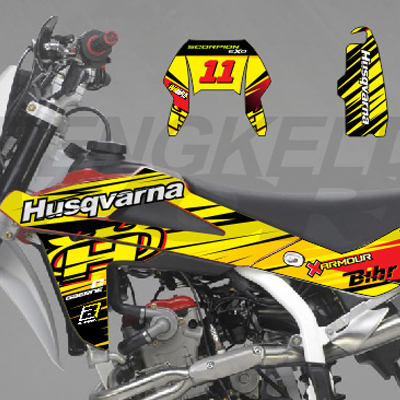 HUSQVARNA TE 250 - Yellow