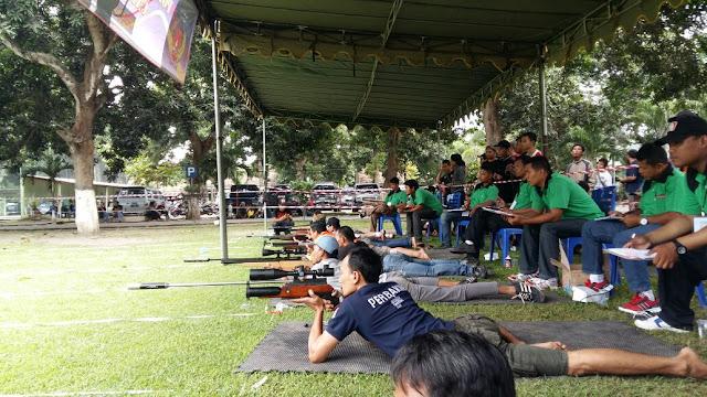 Lomba Menembak Dalam Rangka HUT Juang Kartika Dan HUT Kodam V/Brawijaya
