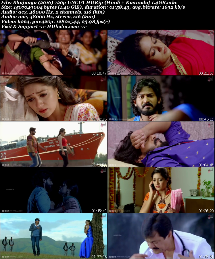 Bhujanga Hindi Dual Audio Full Movie Download, Phir Meri Jung 2017 Hindi Dubbed Full Movie Download Free, Bhujanga Un-Cut 720p HDRip 1GB Hindi Dual Audio Kannada 480p HDRip Free Download MKV Mp4 HD