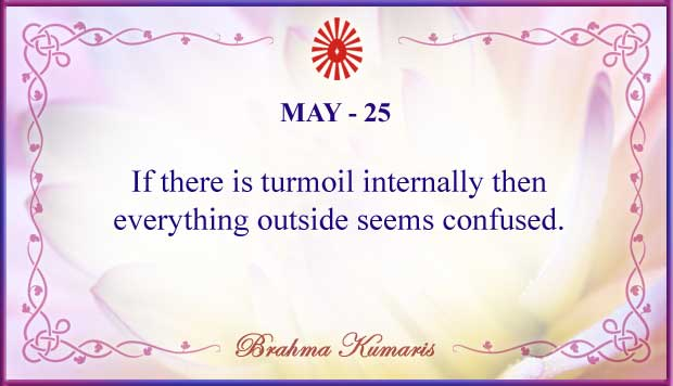 Thought For The Day May 25