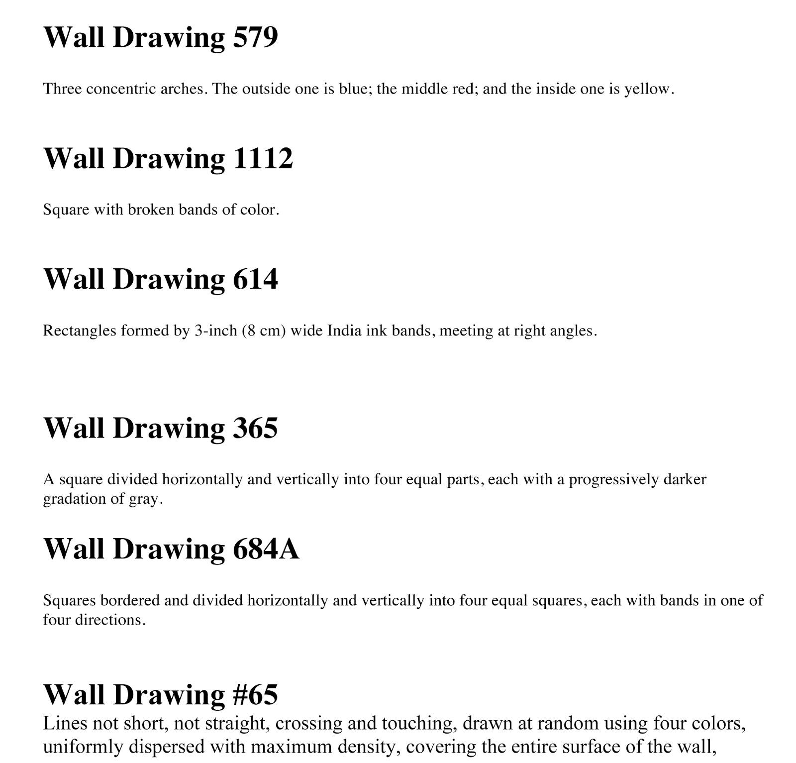 Monument Valley Regional Middle School Art Class Sol Lewitt