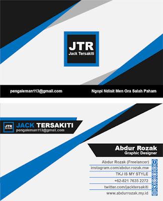 Design Kartu Nama dengan Adobe Illustrator