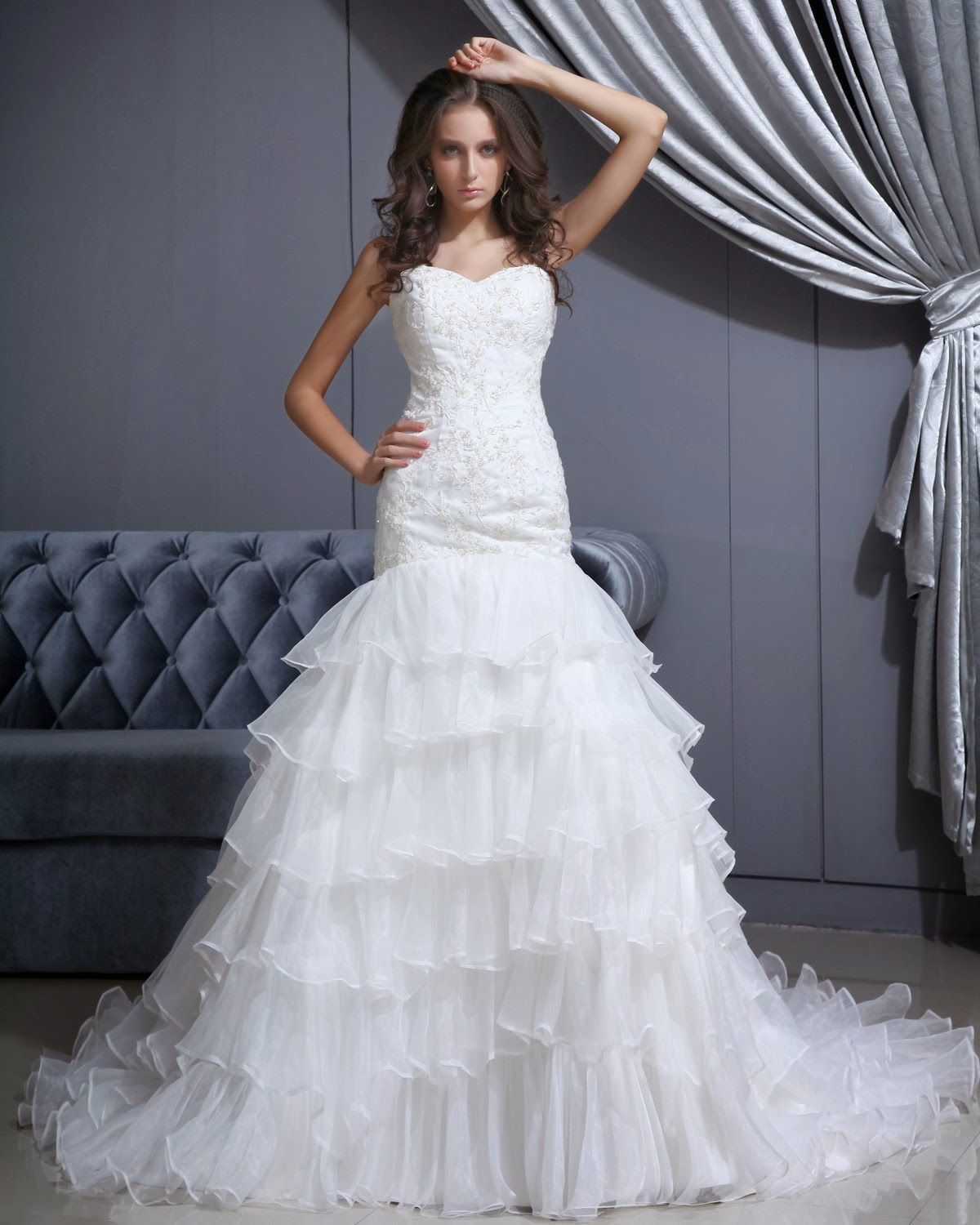 Cheap Wedding Dresses With Elegant Style | Living Rooms ...
