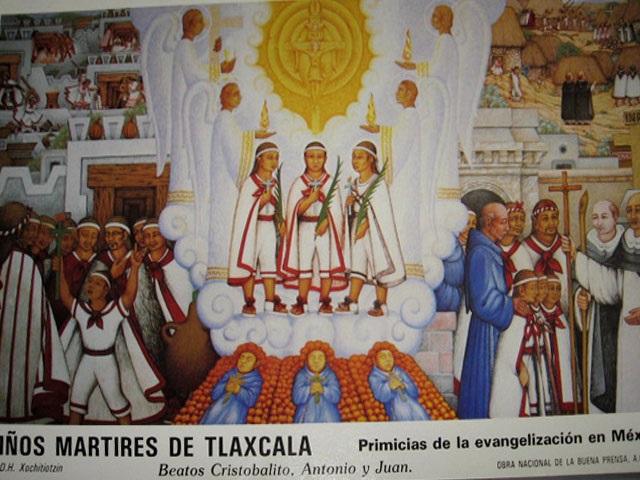 Papa canonizará a los niños mártires de Tlaxcala el 15 octubre