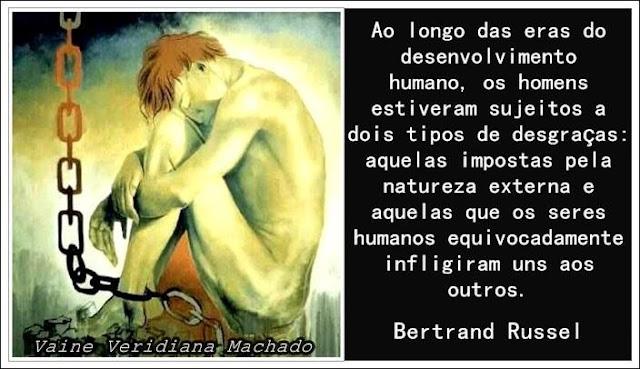Bertrand Russel, Edmund Wilson e a desumanidade humana