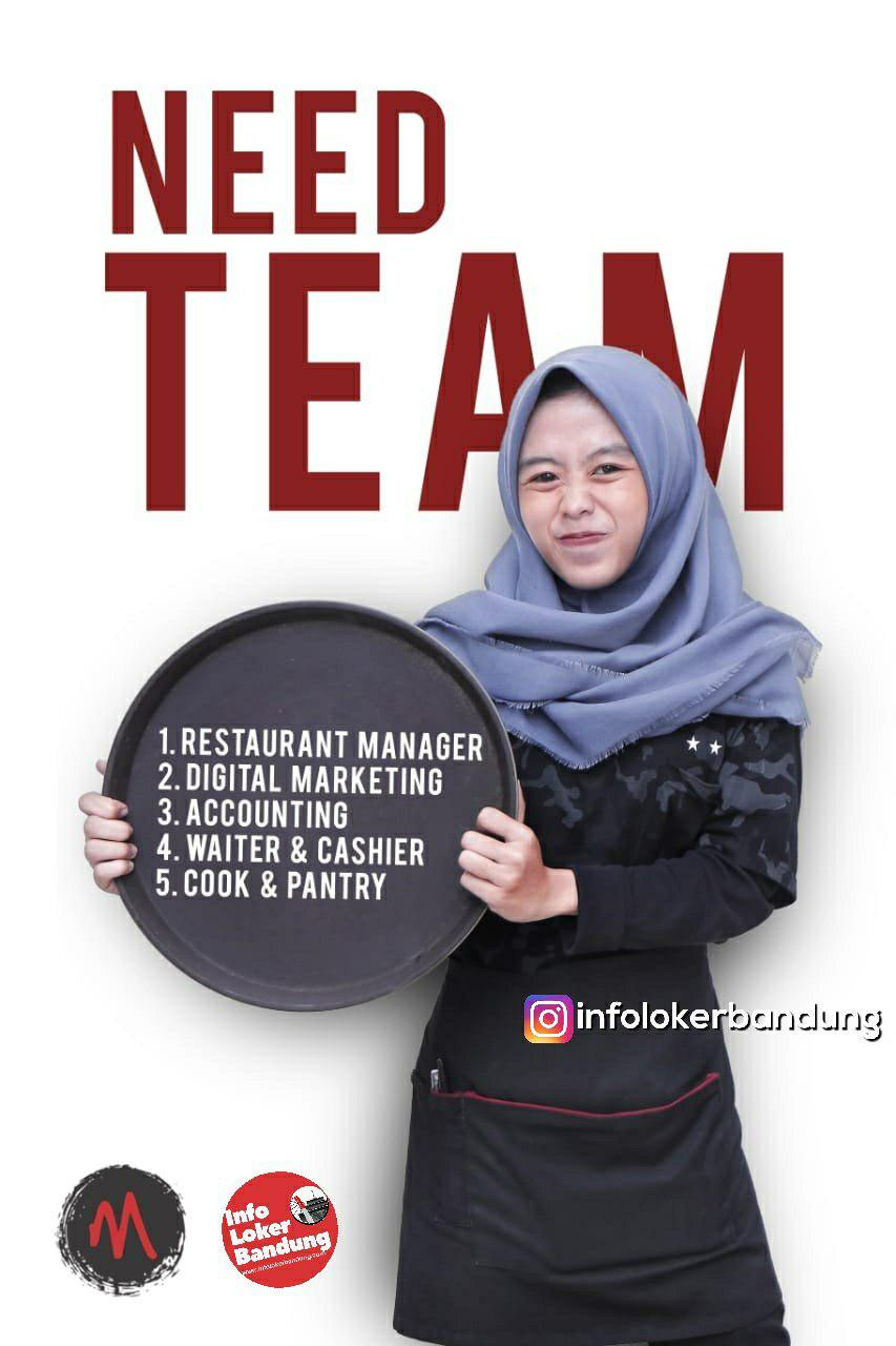 Lowongan Kerja Oseng Mercon Bnadung Januari 2019