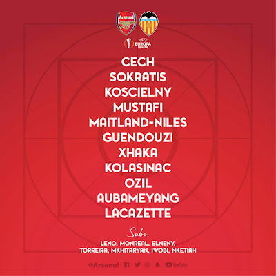 arsenal-vs-valencia-confirmed-starting-lineup-europa-league