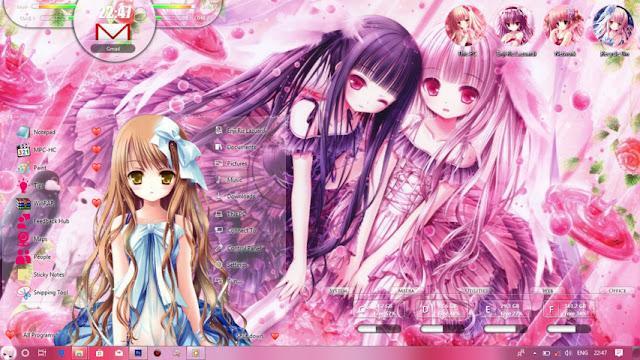 Windows 10 Ver. 1709 Theme Tinkle by Enji Riz
