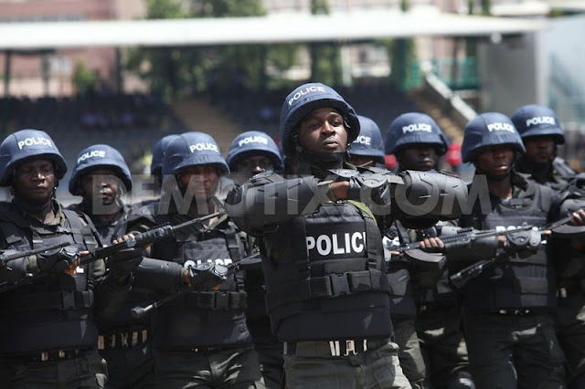 1367296918 nigeria police force performs ceremonial parade to mark police week 2006089
