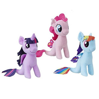 Sea Pony Plush Listed on Entertainment Earth
