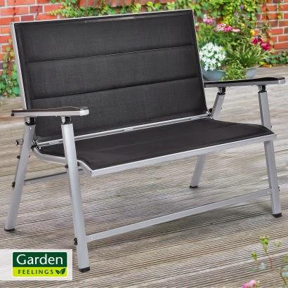 garden feelings alu gartenbank aldi dein. Black Bedroom Furniture Sets. Home Design Ideas