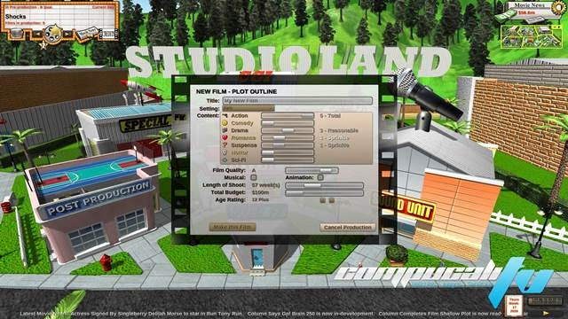 Movie Studio Boss The Sequel PC Full