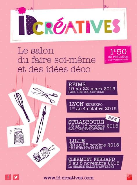 ID créatives, Lyon, salon créatif, La Perle des Loisirs
