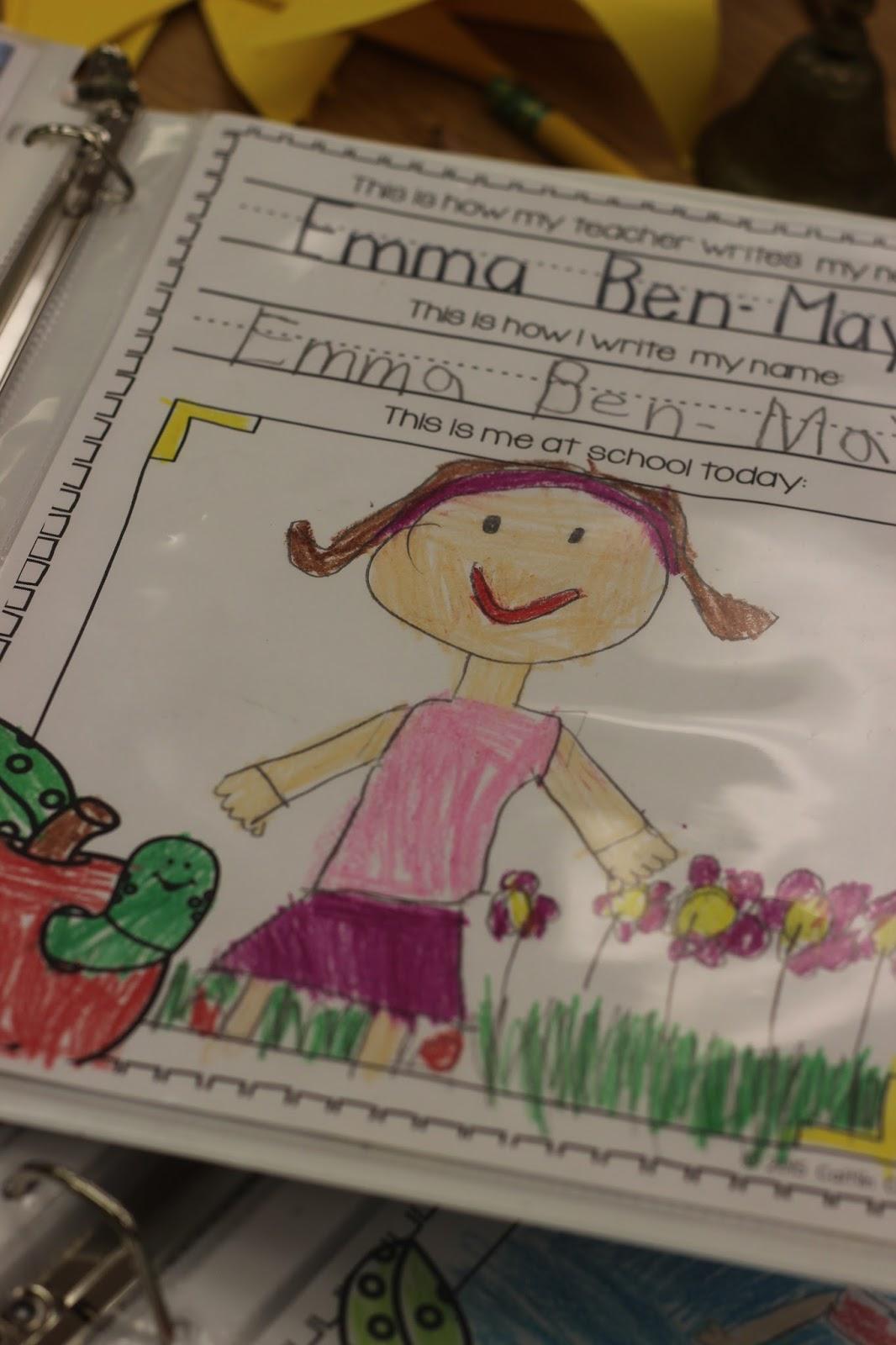 Kindergarten Smiles Memory Books In Kindergarten