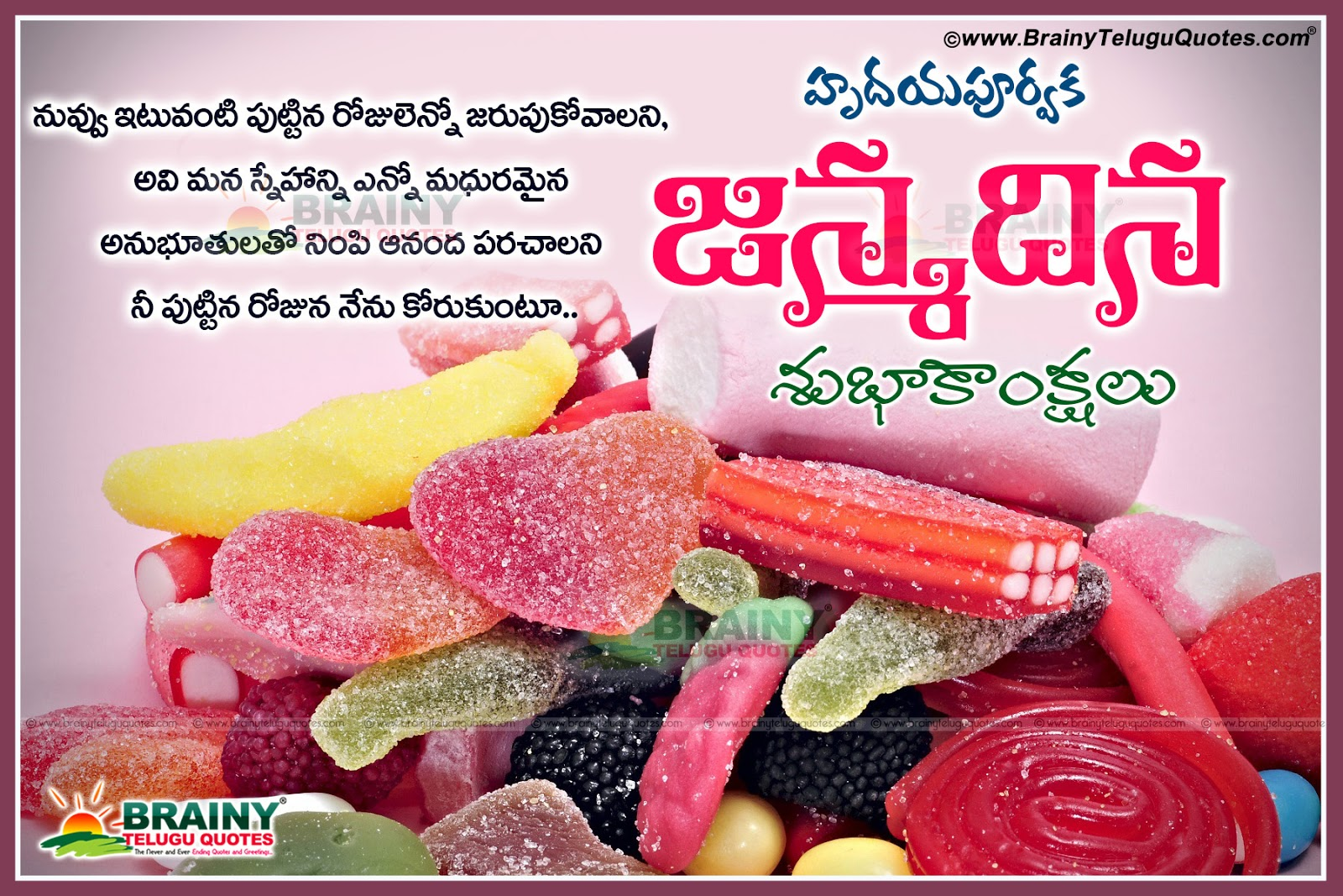 Happy birthday greeting in telugu with best wishes telugu nice birthday photo commentsfamous telugu birthday wishes in telugu languageawesome telugu kristyandbryce Images