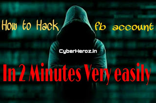 How to hack fb account easily with Mobile