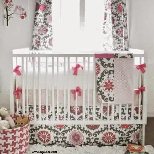d co chambre bebe fille gris rose. Black Bedroom Furniture Sets. Home Design Ideas