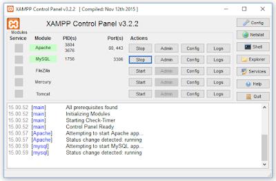 Cara Membuat View Tabel Pada MySQL - Xampp