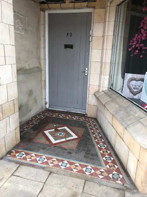 Doorway mosaic, Abingdon, Oxfordshire