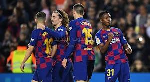 برشلونة يتغلب على ليفانتي ويقلص الفارق مع ريال مدريد في الدوري الاسباني