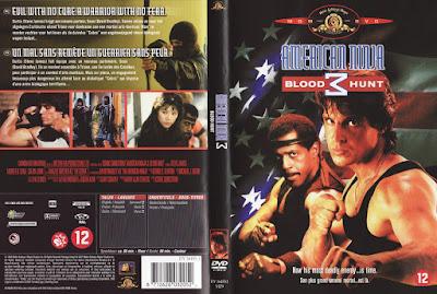 Filme Guerreiro Americano 3 (American Ninja 3 - Blood Hunt) DVD Capa