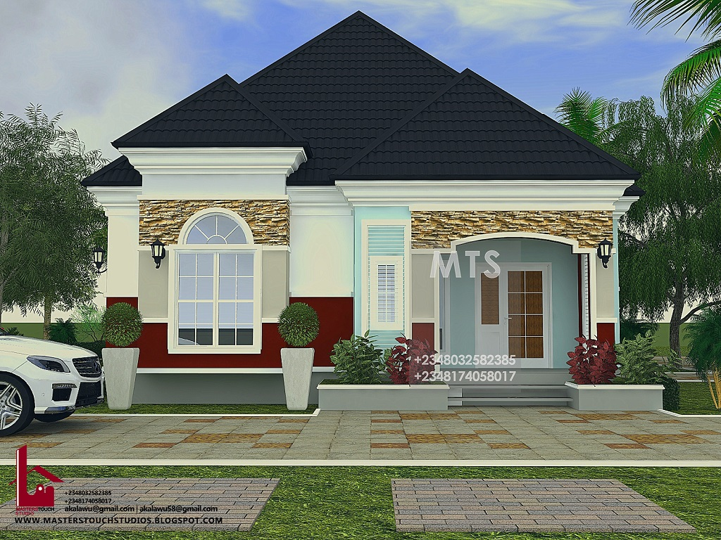 Beautiful bungalow houses in nigeria for Interior decoration nairaland